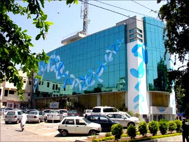 Telenor's headquarters in Pakistan.
