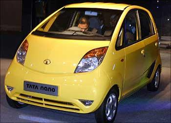 The Tata Nano.