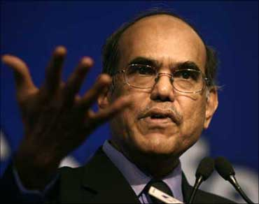 RBI Governor D Subbarao,
