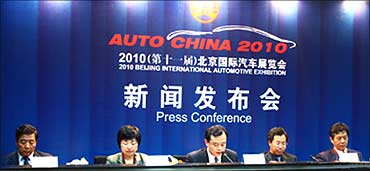 Auto China 2010 may be hit.