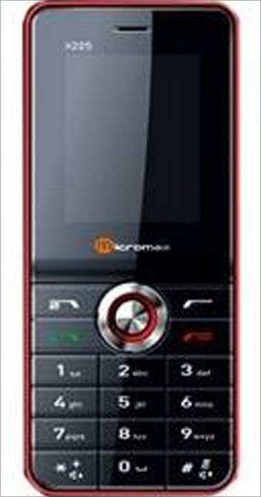 Micromax handset.