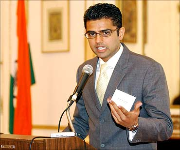 Image: Minister of State for Communications and Information Technology Sachin Pilot. Photograph: Paresh Gandhi