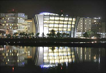 An IT Park in Bangalore.