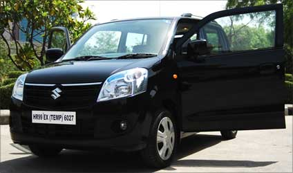 Sneak peek: New WagonR at Rs 328,000