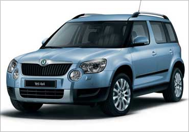 Skoda Yeti.