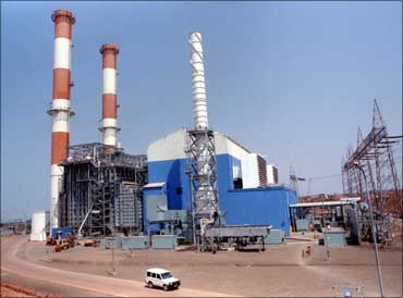 File photo of the Dabhol power plant.
