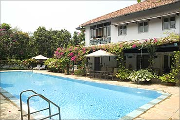 A holiday home in Alibaug