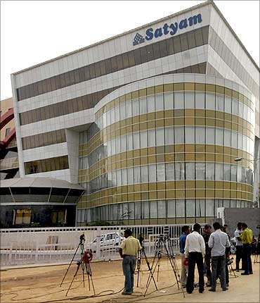 Satyam Computer office at Hyderabad.