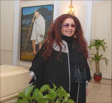 Shahnaz Husain.
