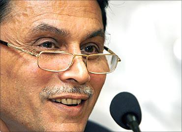 Sebi chairman C V Bhave.