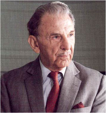 J R D Tata, the longest serving chairman of the Tata Group.