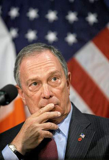 Billionaire and New York Mayor Michael Bloomberg.