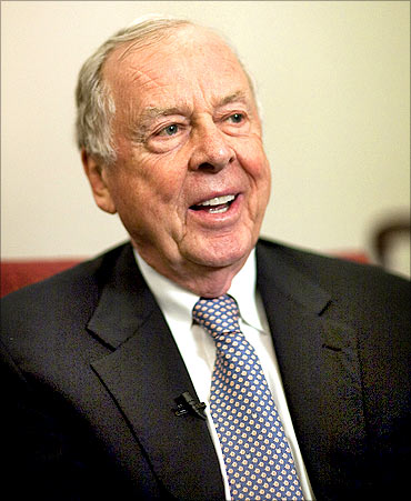Financier T. Boone Pickens.