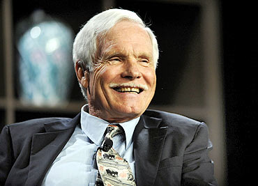 Turner Enterprises chairman Ted Turner.
