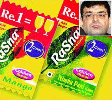 A product and marketing innovator, Piruz Khambatta has made Rasna a household name.