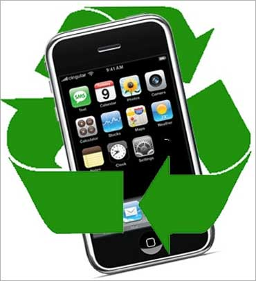 Time for mobile users to ring in recycling