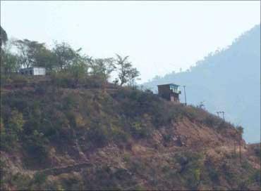 Unit at a hil top in Baripur, Uttaranchal.