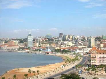 Luanda's main Street the Marginal