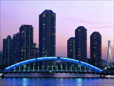 Eitai Bridge, Tokyo.