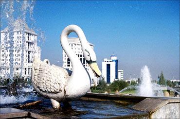 Ashgabat.