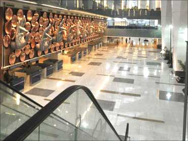 Terminal 3, Indira Gandhi International Airport.