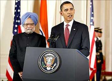 US President Barack Obama and Prime Minister Manmohan Singh