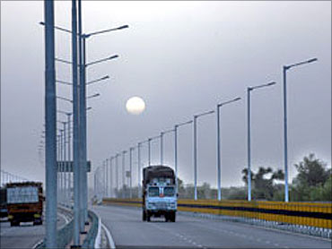 GVK bullish on road projects.
