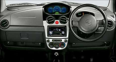An interior view of the Chevvy Spark.