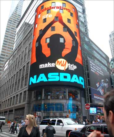 Nasdaq welcomes MakeMyTrip.