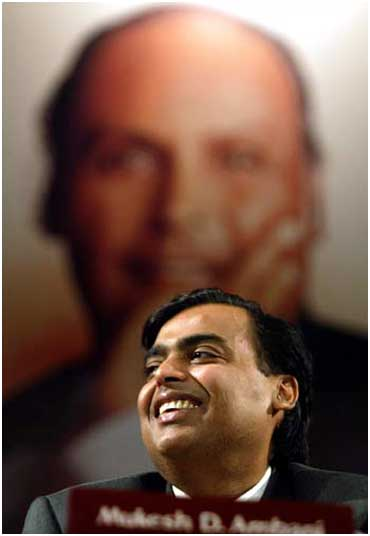 Reliance chairman Mukesh Ambani.