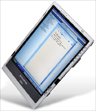 Slate tablet pc.