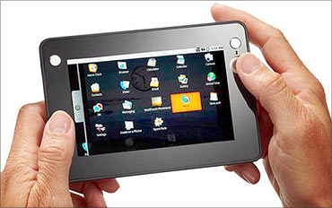 Media tablet.