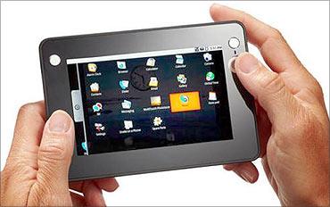 Media tablet.