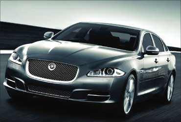 All new Jaguar XJ model.