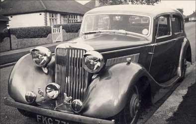 Jaguar pre-war 1.5.
