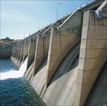 High-profile hydroelectric projects have been halted also.
