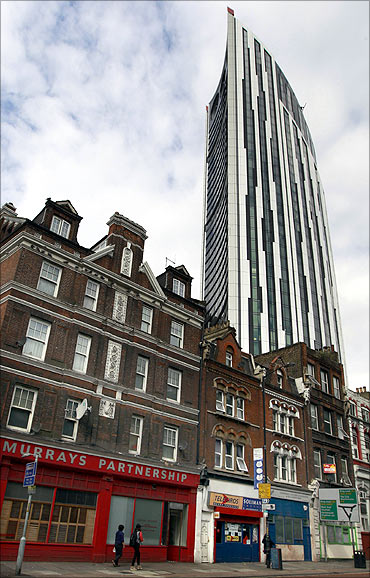 BFLS's Strata tower in London.