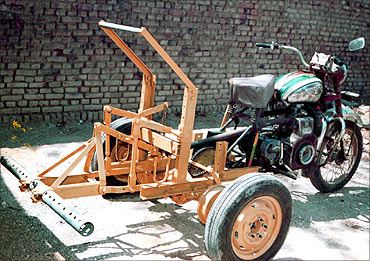 India's super plough called Bullet Santi won a US patent as well.
