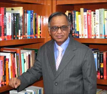 N R Narayana Murthy.
