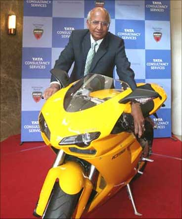 Subramanian Ramadorai, Vice-Chairman, TCS