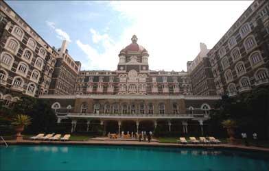 Taj Mahal hotel in Mumbai.