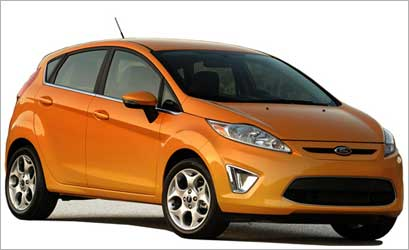 Ford Fiesta hatchback ws launched recently in the US.