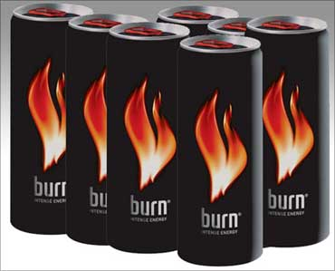 Coca-Cola's Burn energy drink.