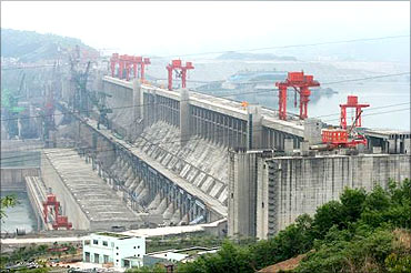 Three Gorges Hydroelectric Power Plant