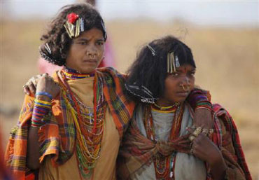 Tribal women.