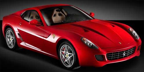 Ferrari 599 GTB.