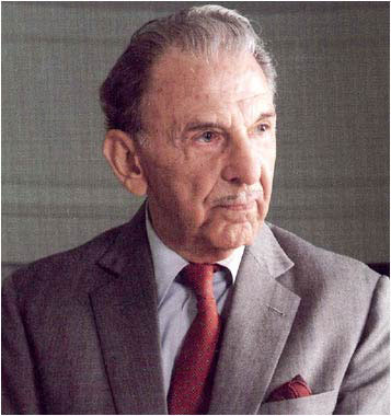 The legendary J R D Tata.