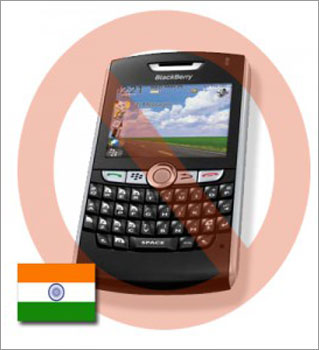 'Banning BlackBerry will be counterproductive'