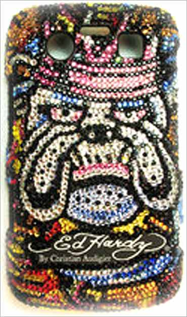 Ed Hardy phone covers.
