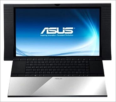 Asus NX90 notebook.